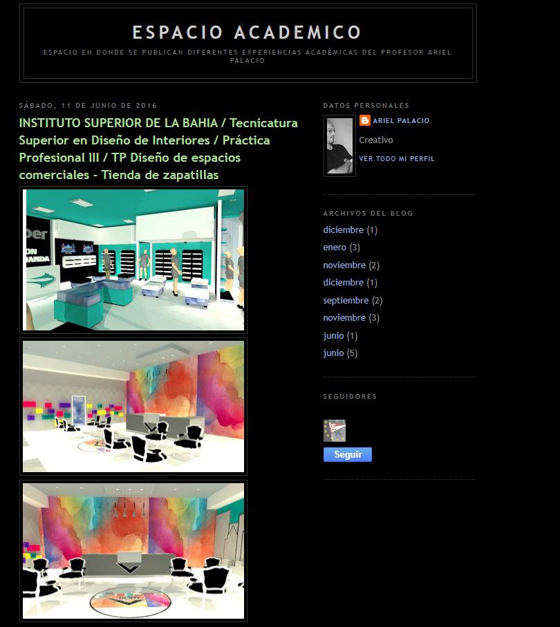 Blog Academico Ariel Palacio
