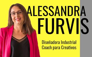 ALESSANDRA FURVIS, COACH PARA CREATIVOS